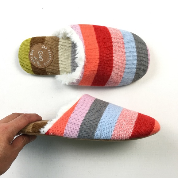 Gap Shoes Mens Holiday Knit Slippers 78 B48 Poshmark